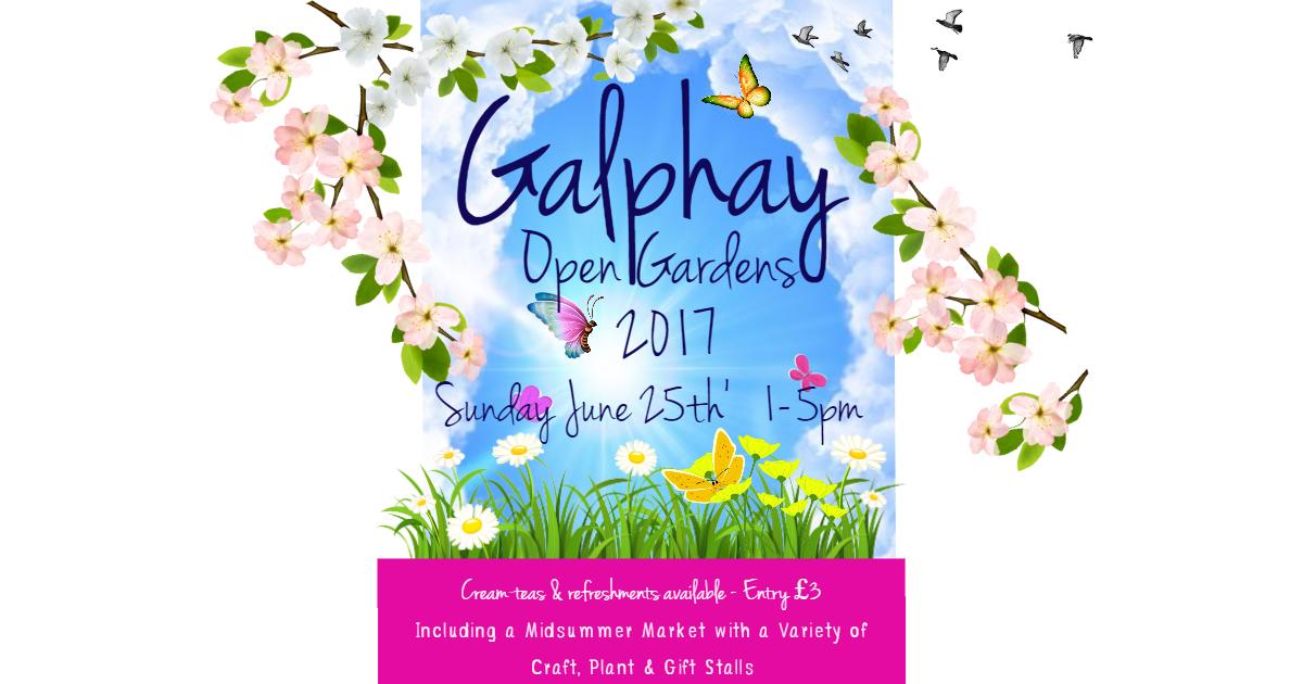 Galphay Open Gardens 2017